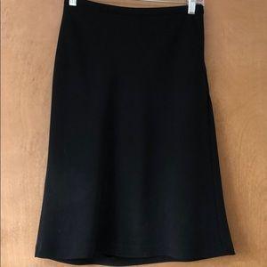 Black suit skirt size 0